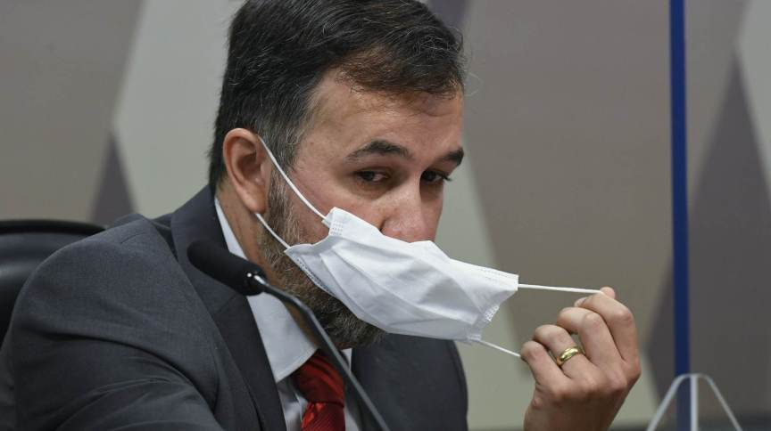 Alexandre Marques, auditor do TCU, na CPI da Pandemia