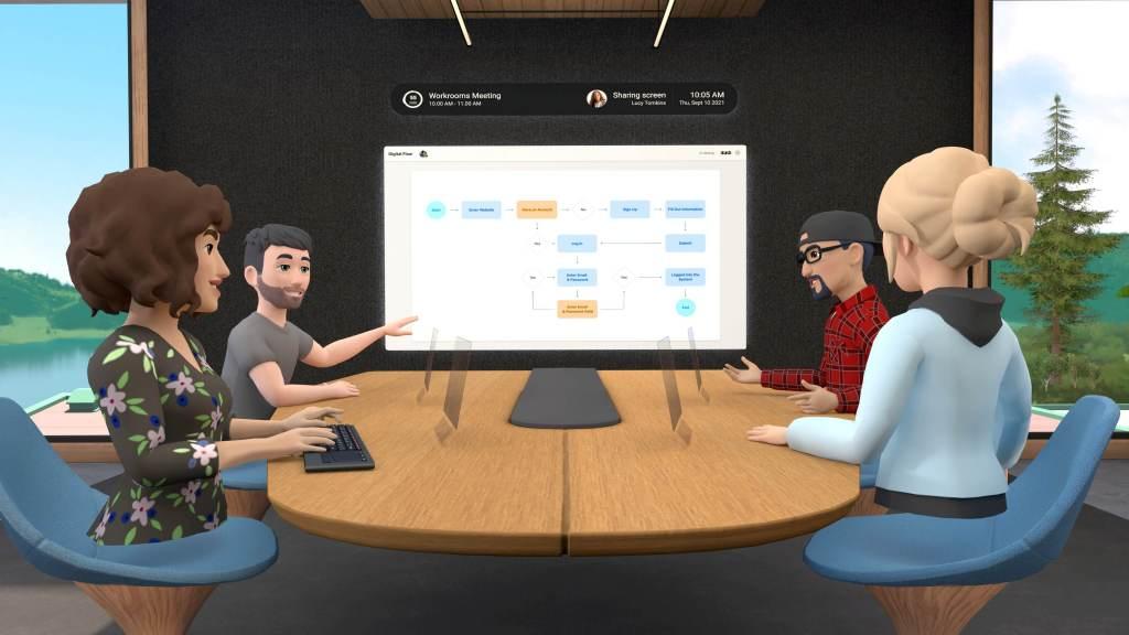 Aplicativo do Facebook permite fazer reuniões em realidade virtual