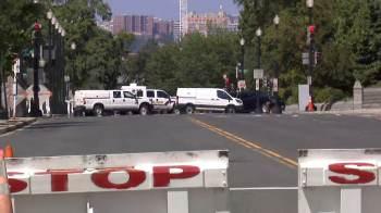 Vários edifícios próximos foram evacuados, incluindo a Suprema Corte dos EUA