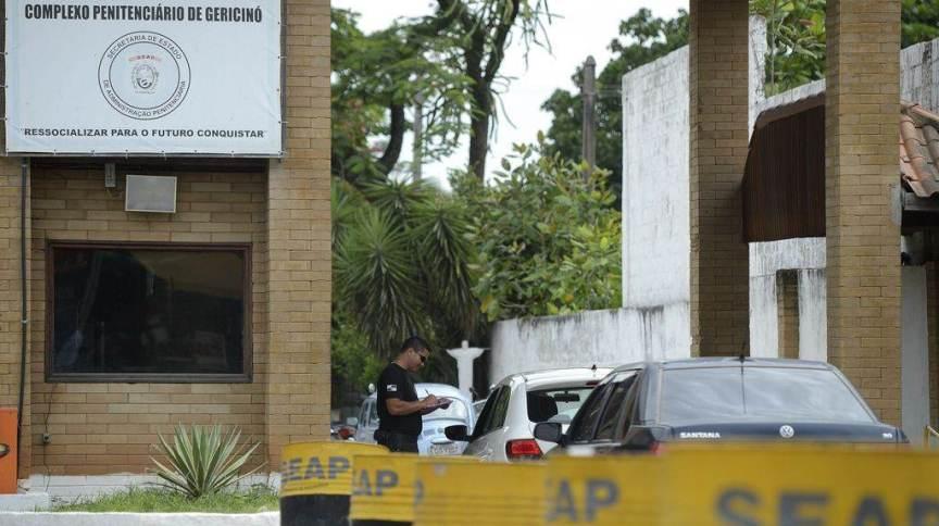 O presídio de Bangu 8 fica localizado no Complexo Penitenciário de Gericinó