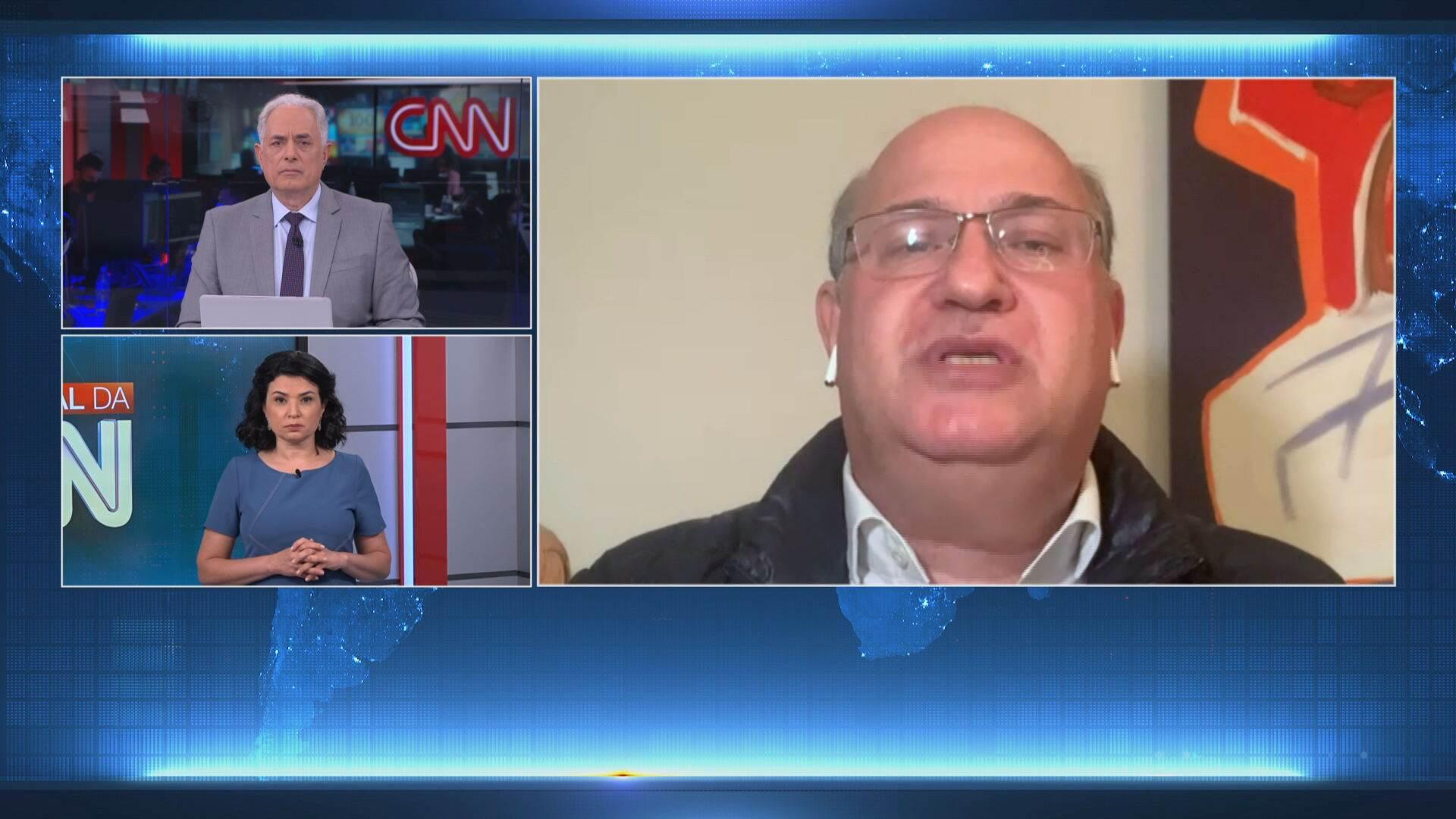 Ilan Goldfajn em entrevista à CNN