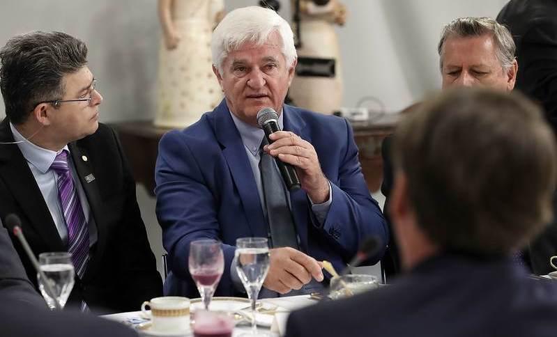 Presidente da Aprosoja, Antonio Galvan