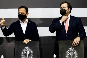 Ex-presidente da Câmara confirmou apoio à campanha de João Doria e criticou partidários do centro em Brasília: 'hora de parar de brincar de fazer política'