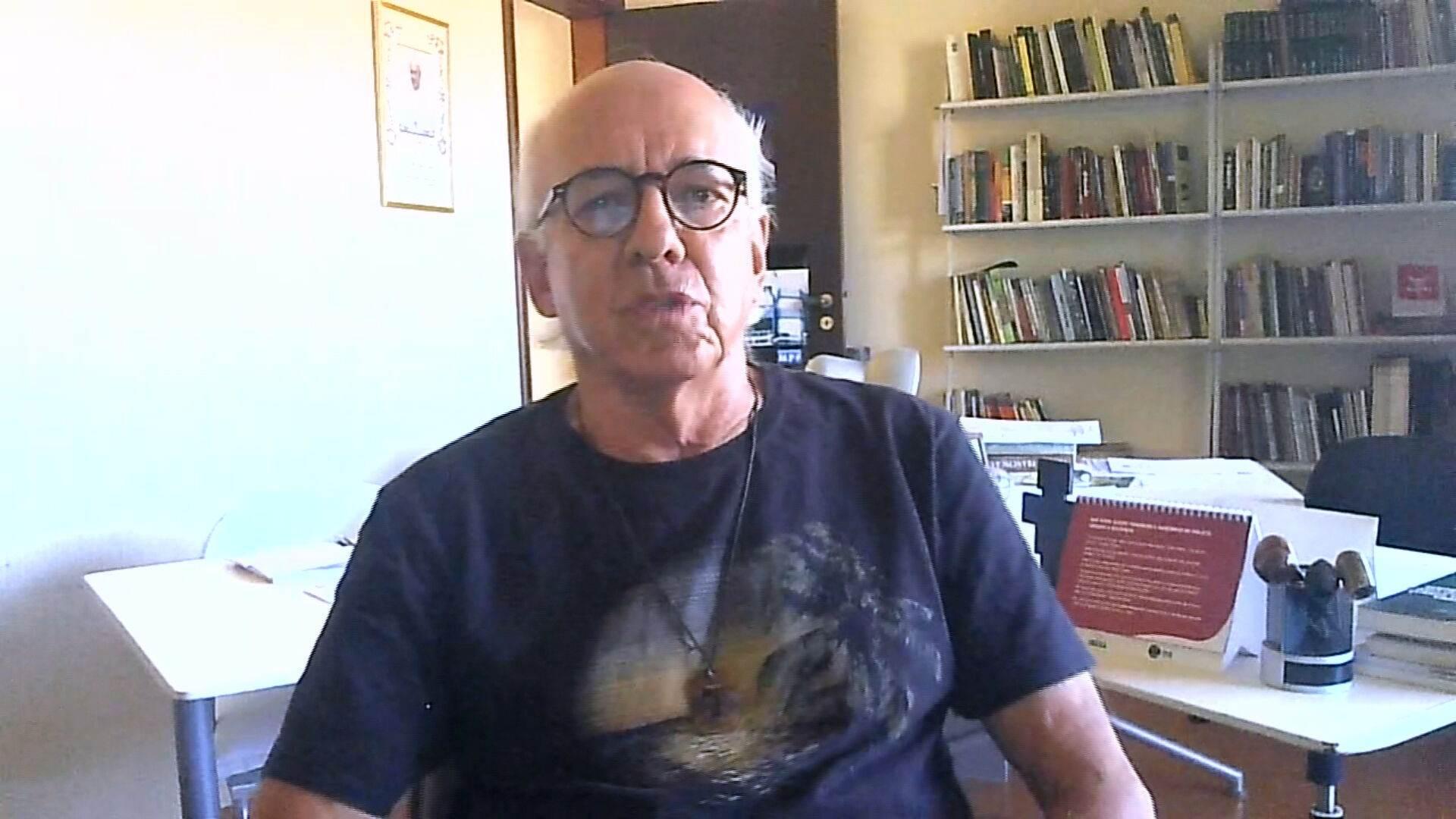 Ex-PGR Claudio Fonteles em entrevista à CNN