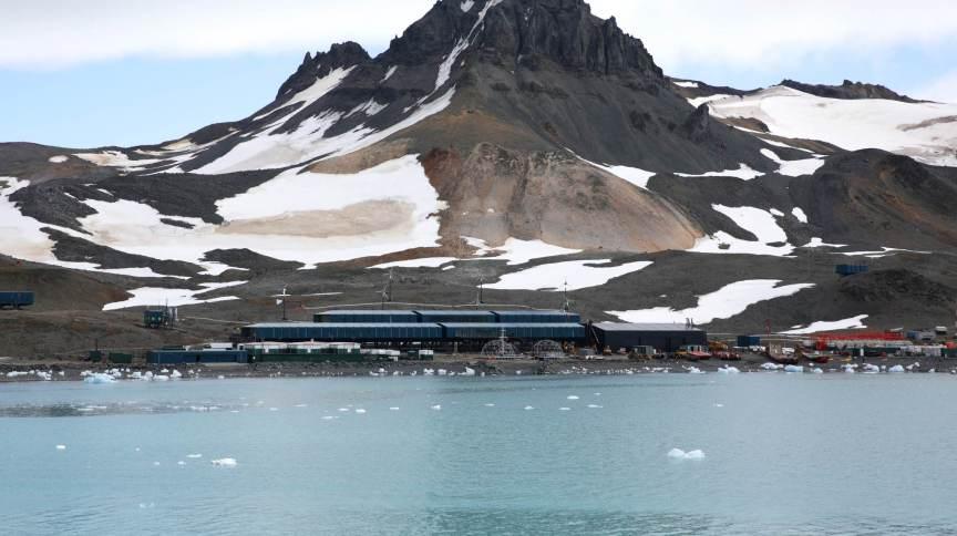 Estação Antártica Comandante Ferraz, da Marinha do Brasil