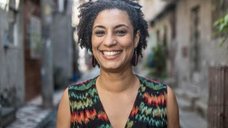 A ex-vereadora carioca Marielle Franco