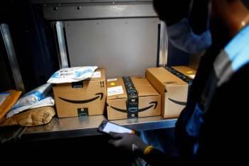 Jornal britânico afirmou que gigante do e-commerce poderia aceitar pagamentos com a criptomoeda até o fim do ano