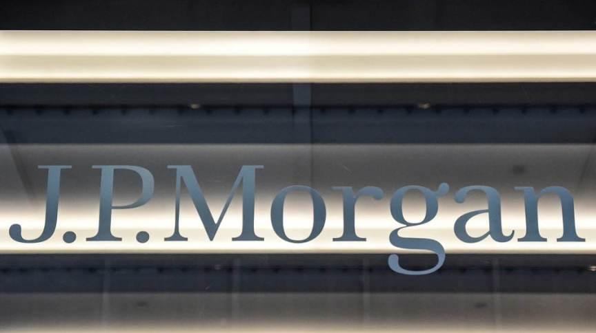Fachada do banco JP Morgan