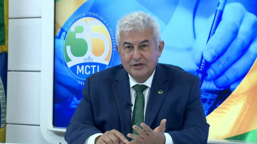 Ministro da Ciência, Tecnologia e Inovação, Marcos Pontes