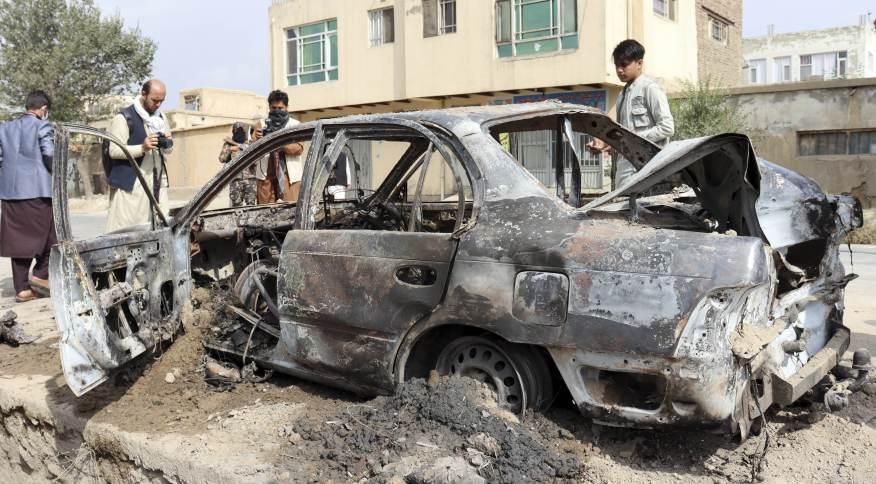 Número de mortos em ataque de drones dos Estados Unidos em Cabul sobe para dez