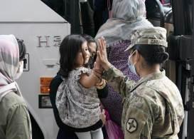 No total, são cerca de 116.700 pessoas resgatadas do Afeganistão desde 14 de agosto; se contar os números do final de julho, são 122.300