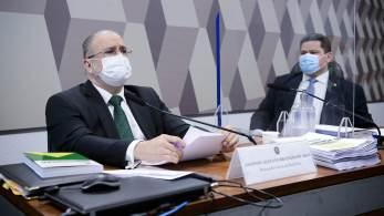 Aras foi sabatinado na Comissão de Constituição e Justiça (CCJ) do Senado nesta terça-feira (24); nome do atual PGR ainda precisa ser aprovado pelo plenário do Senado