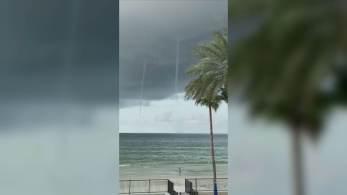 Serviço de meteorologia emitiu alerta especial para a região por causa do fenômeno