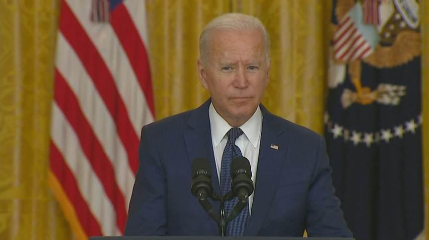 O presidente dos Estados Unidos Joe Biden falou sobre as explosões no Afeganistão (26.ago.2021)