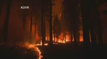 Incêndios florestais na região do Lago Tahoe, nos EUA, já destruiu grandes proporções de mata nativa