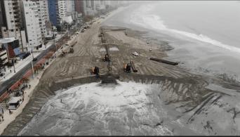 Com o avanço da urbanização e das mudanças climáticas, especialistas advertem que a erosão costeira será cada vez mais comum