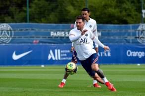 Partida contra o Reims pelo Campeonato Francês poderá contar com o argentino, além de Neymar e MBappé