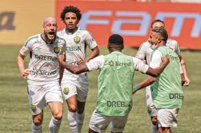 Equipe do Mato Grosso venceu por 2 a 0 no Allianz Parque