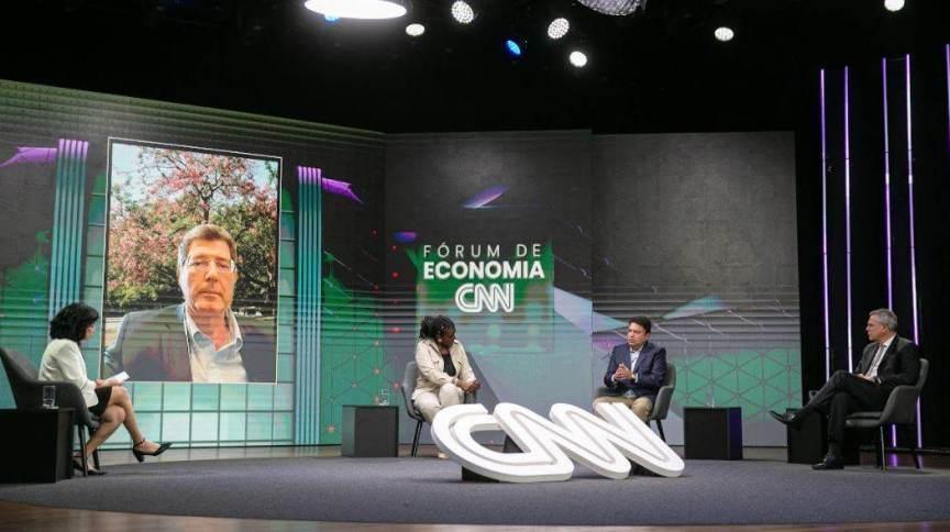 Joaquim Levy, Rachel Maia, Lorival Luz e Walter Schalka participam do Fórum de Economia CNN