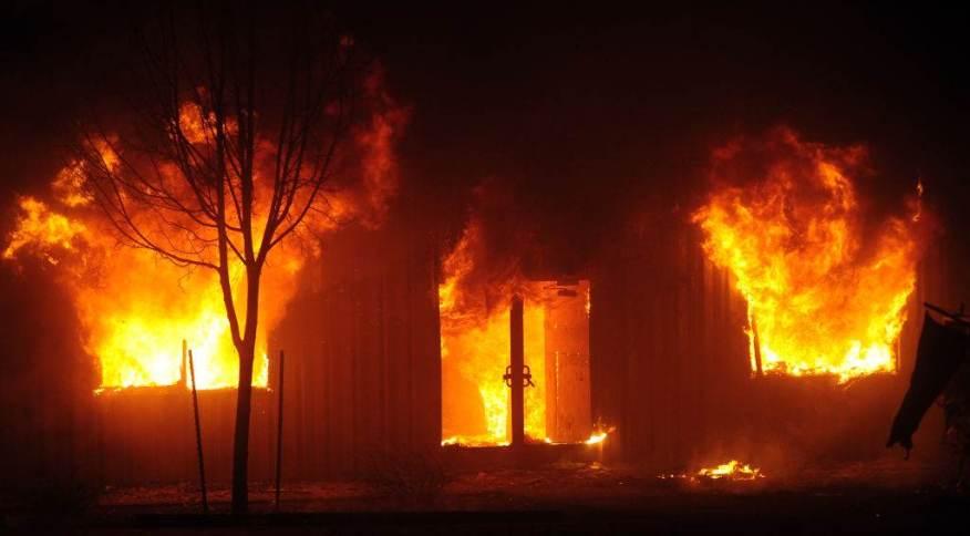 Incêndio florestal em Greenville, na Califórnia, EUA - Neal Waters/Anadolu Agency via Getty Images - 5 de agosto de 2021