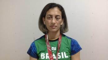 Lúcia Araújo venceu a russa Natalia Ovchinnikova na disputa do bronze e conquistou sua terceira medalha paralímpica