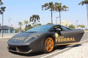 Lamborghini Gallardo LP 560-4, avaliado em cerca de R$ 800 mil, foi apreendido em julho; modelo chega a 325 km/h, mas não será usado como viatura comum