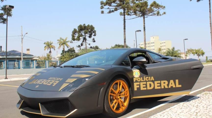 Justiça Federal autorizou PF a caracterizar Lamborghini como viatura ostensiva