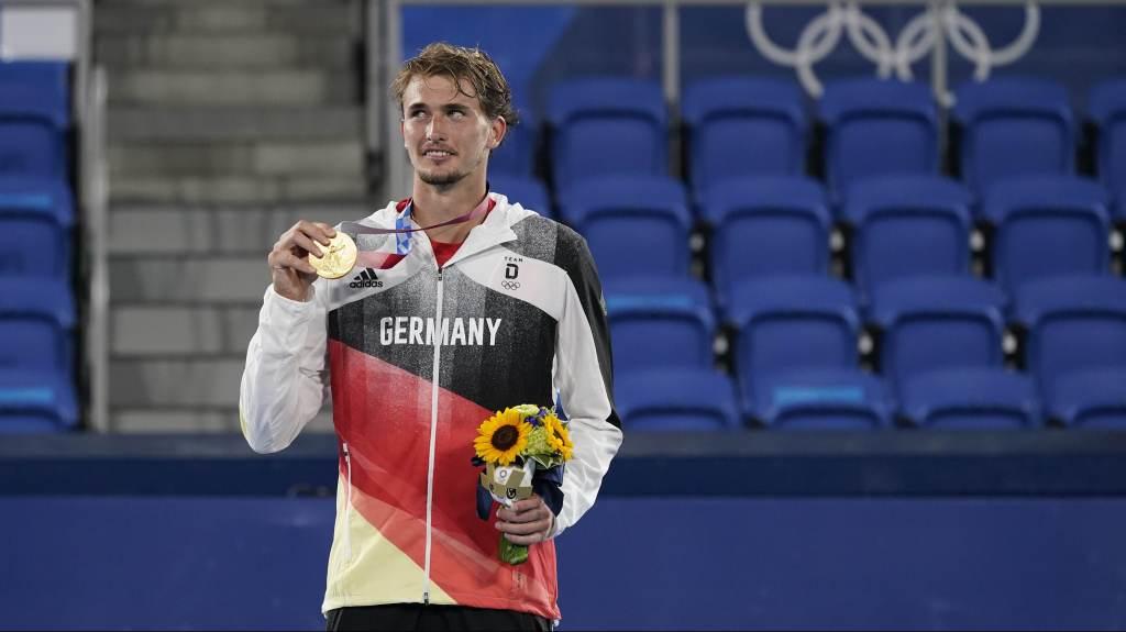 No tênis simples em Tóquio, ouro ficou com Alexander Zverev, da Alemanha