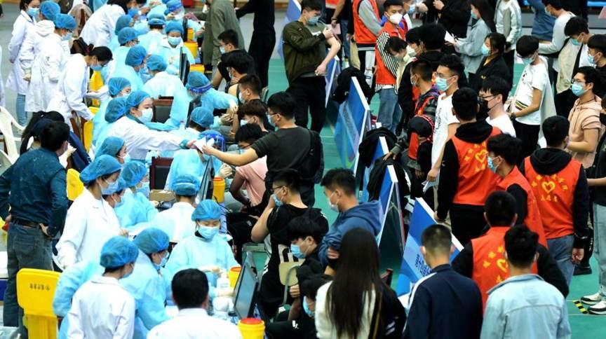 China vacina estudantes contra a Covid-19