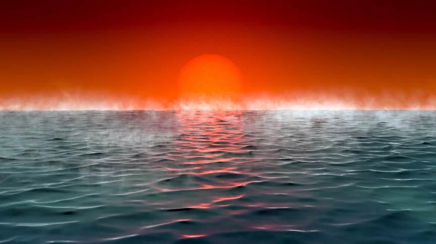 Planetas quentes com oceanos e atmosfera com hidrogênio podem ser semelhantes a Terra