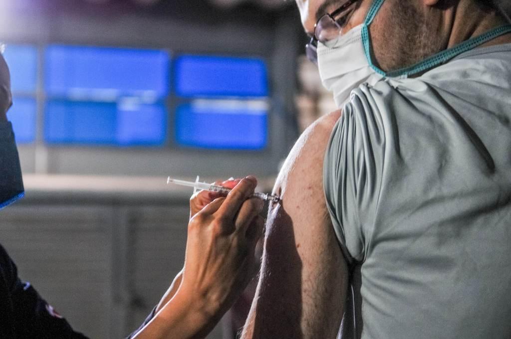 Vacinação contra a Covid-19 em Taguatinga (DF)