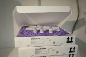 Segundo a farmacêutica, outro lote será entregue ainda hoje com 1.141.920 doses do imunizante
