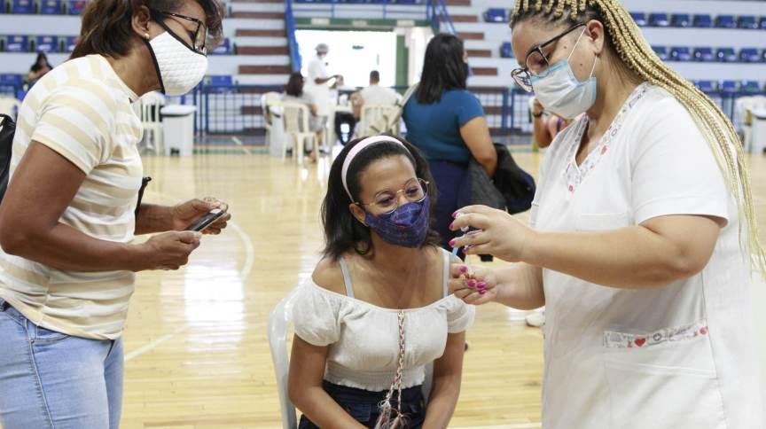 Vacinação contra a Covid-19 em Uberlândia (MG)