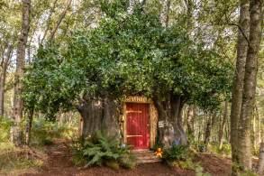 Ação do Airbnb visa resgatar memórias de infância com réplica da cabana