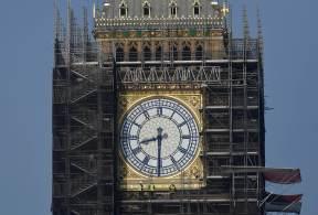 Torre de 177 anos está em reforma desde 2017