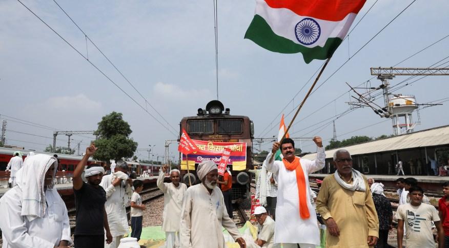 Protestos contra o primeiro-ministro Narendra Modi são os mais longos até o momento