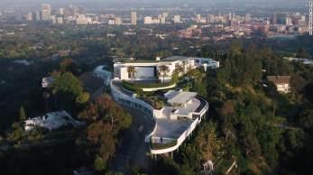 Residência no alto de montanha em Bel Air tem 20 quartos, boate particular e garagem para 50 carros; propriedade é promovida como a maior e mais cara do mundo