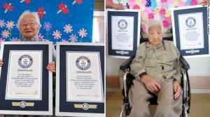 Irmãs japonesas, de 107 anos, são certificadas como gêmeas mais velhas do mundo