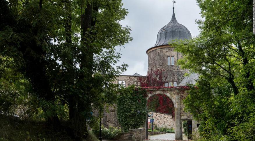 Castelo que teria inspirado o conto da Bela Adormecida, em Sababurg, na Alemanha