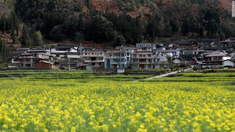 Cidade de Panzhihua, na província de Sichuan, no sudoeste da China