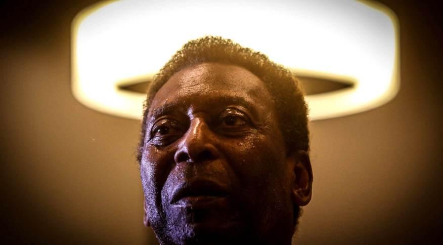 O ex-jogador de futebol Edson Arantes do Nascimento, conhecido como Pelé