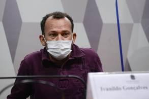 Ivanildo Gonçalves confirmou ida ao local onde fica o Departamento de Logística, então comandado por Roberto Dias, e negou entregar o celular para perícia no Senado