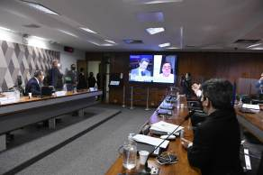 Caso ele não compareça, comissão estuda chamar CEO da VTCLog, Andreia Lima