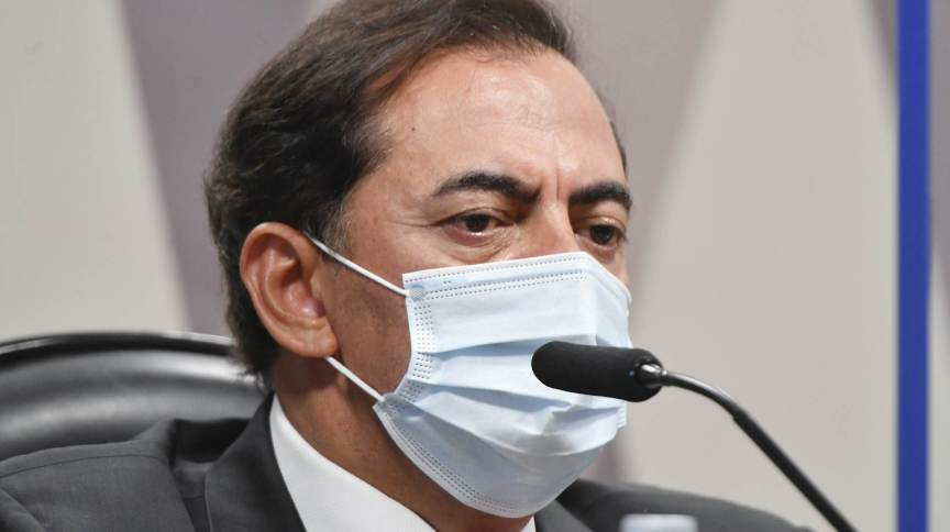 Marcos Tolentino negou ter participado das negociações entre a Precisa Medicamentos e o governo federal na compra da vacina Covaxin