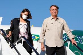 Primeira-dama estava na comitiva do presidente Jair Bolsonaro (sem partido) que viajou para a Assembleia-Geral da ONU, em Nova York