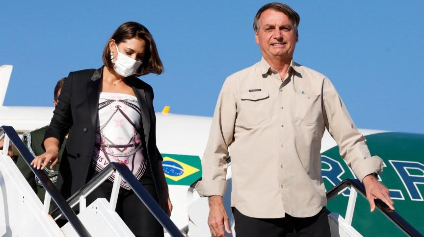 Michelle Bolsonaro testou negativo para Covid-19 após a Assembleia-Geral da ONU, em Nova York