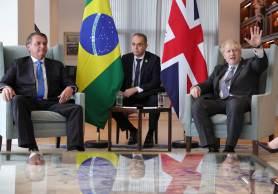 Reunião aconteceu em Nova York (EUA), onde o presidente do Brasil fará o discurso de abertura da Assembleia-Geral da ONU