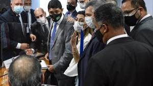 Wagner Rosário pede desculpas a Simone Tebet após ofendê-la na CPI da Pandemia