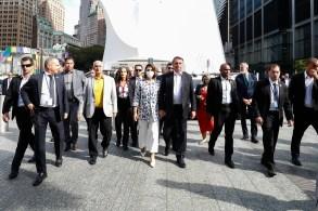 Todos estavam presentes na comitiva do presidente Jair Bolsonaro (sem partido) que viajou para a Assembleia-Geral da ONU, em Nova York