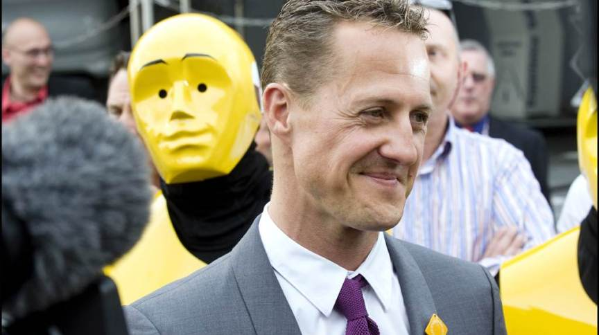 O ex-piloto Michael Schumacher